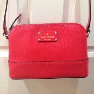 NWOT Red Kate Spade Crossbody Purse Bag